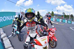 syafiq memenangi perlumbaan CP115 di Teluk Intan